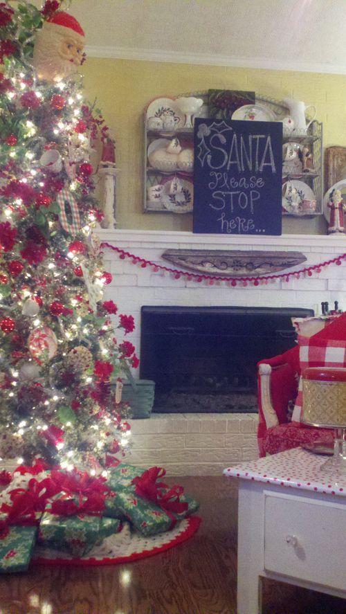 Santa stop here 2012