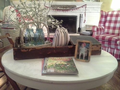 Coffee table ...