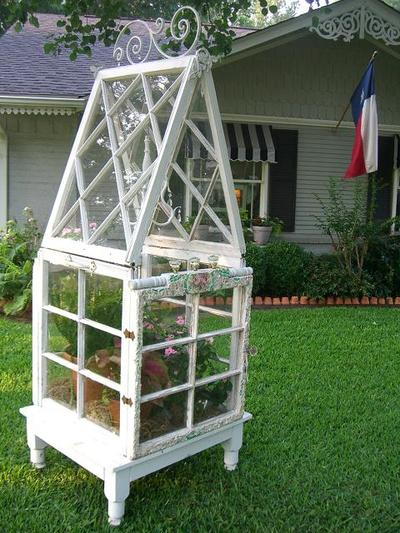 Diy Craft Projects Using Old Vintage Windows Doors Trash